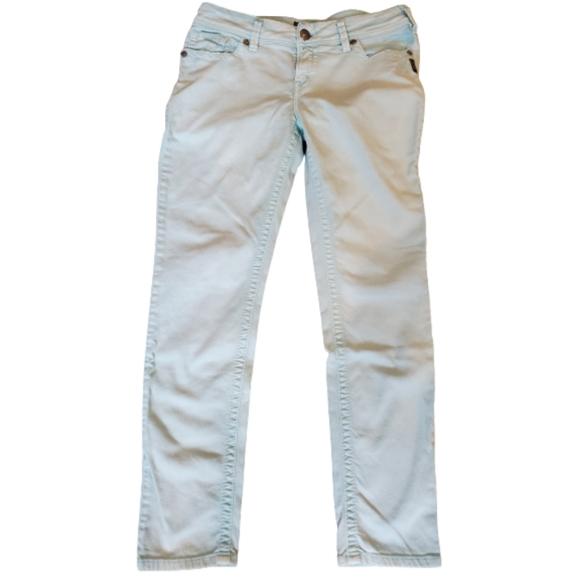 🔥BOGO🔥 Silver skinny jeans, sz 31